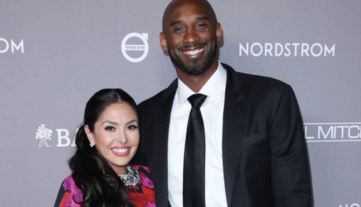 Vanessa Laine with her husband Kobe Bryant
