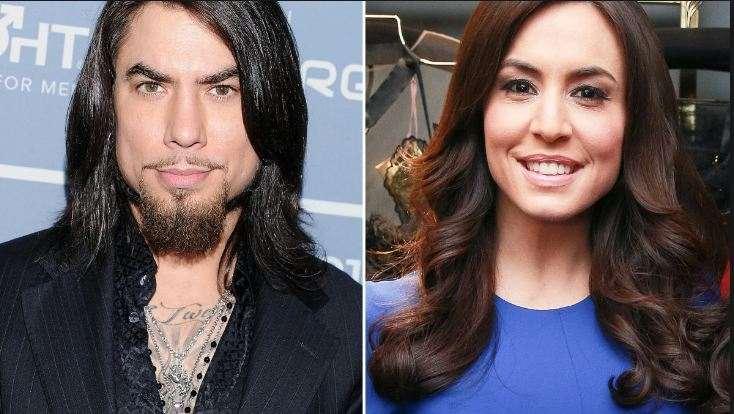 Andrea Tantaros and her ex-boyfriend, Dave