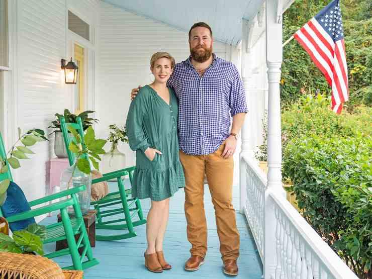 Ben Napier with his wife, Erin Napier