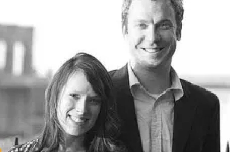 Jonathan Lemire with his wife