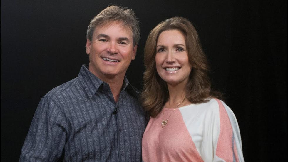 Pastor Jack hibbs with his wife, Lisa Hibbs